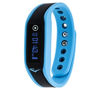 Everlast Wireless Blue Fitness Activity Waterproof Tracker W/ OLED Display / Sleep TR3 Monitor Watch