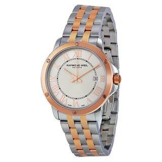 Raymond Weil Women's 5591-SB5-00658 'Tango' Two-Tone Stainless Steel Watch