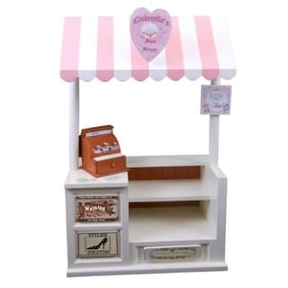 "The Queen's Treasures Interchangeable Cinderella's Shoe Shoppe with Counter, Register & Shoe Shop Sign, Fits 18"" Girl Doll"