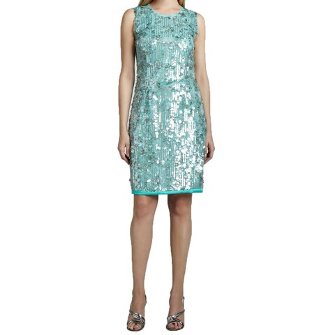 Elie Tahari Emory Sequin Dress (Size 0)