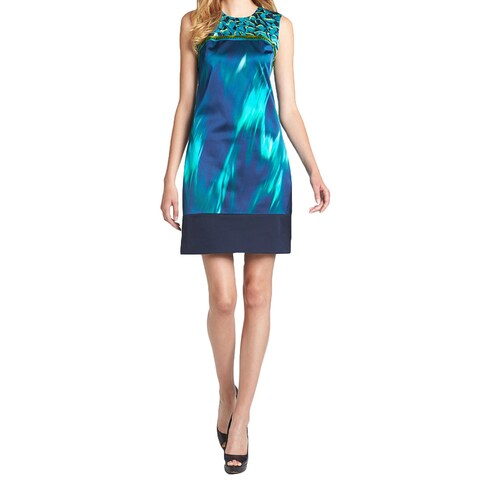 Elie Tahari Ginny Silk Dress