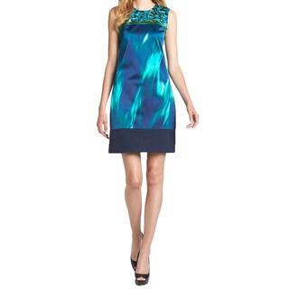 Elie Tahari Ginny Silk Dress