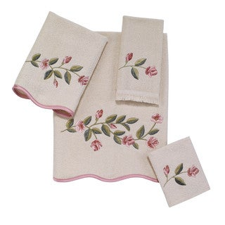 Melrose Embellished 4-piece Towel Set