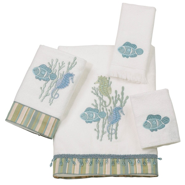 Reef Life 4-Piece Towel Set