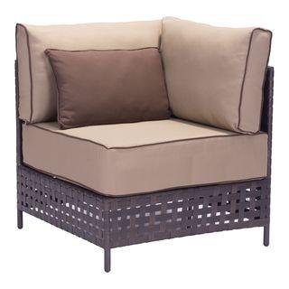 Pinery Beige Sunproof Fabric Corner Chair