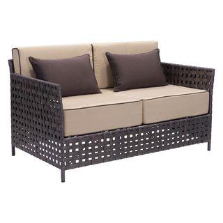 Pinery Beige Sunproof Fabric Sofa