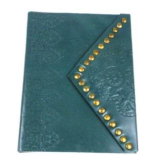 Handmade Nailhead Journal in Teal (India)|https://ak1.ostkcdn.com/images/products/11642012/P18574695.jpg?impolicy=medium
