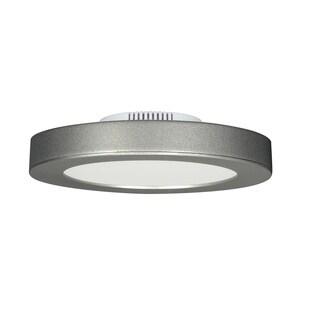 13.5 watt; 7-inch Flush Mount LED Fixture; 3000K; Satin Nickel; 120 volts