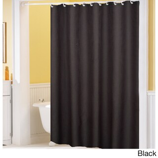 Hotel Quality Waffle Weave Fabric Shower curtain (70 x 72)