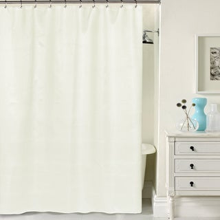 Hotel Quality Waffle Weave Fabric Shower curtain (70 x 72) (5 options available)