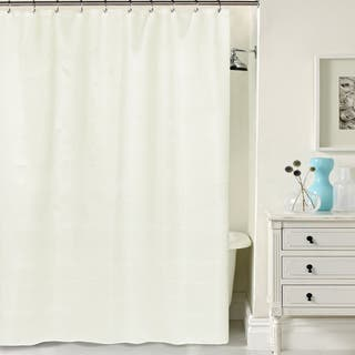 brown and white shower curtain. Hotel Quality Waffle Weave Fabric Shower curtain  70 x 72 Option Brown Curtains For Less Overstock com Vibrant
