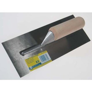 Roberts 49738 ProSeries Notched Trowel