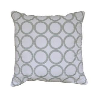 Nostalgia Home Arch Sea Square Decorative Throw Pillow