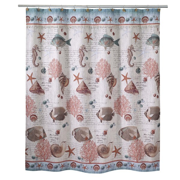 Seaside Vintage Shower Curtain