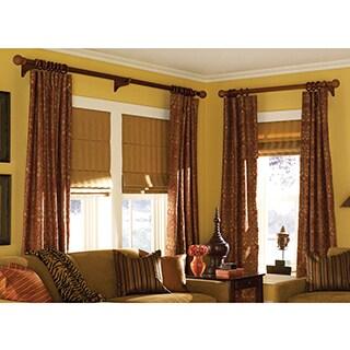 Ashton Grey Smoke Stripe Roman Shade 19 to 19.5-inch Wide