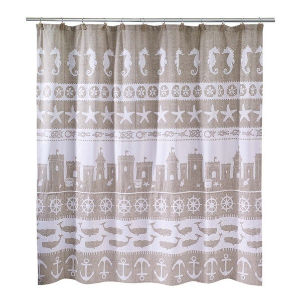 Awesome Sea And Sand Shower Curtain