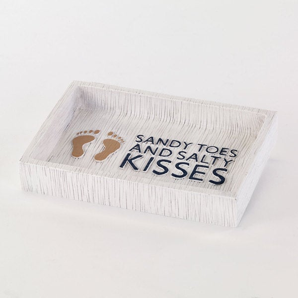 Beach Words Soap Dish