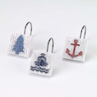 Lake Words Shower Hooks