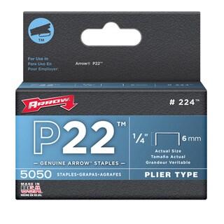 Arrow Fastener 224 1/4 P22 Staples