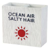 Beach Words Toothbrush Holder