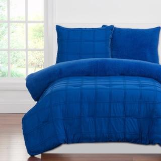 Crayola Playful Plush Pleated 3-piece Comforter Set
