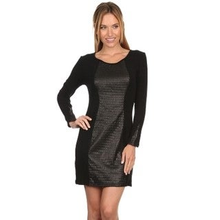 High Secret Women's Textured Bodycon Dress (4 options available)