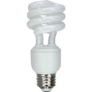 GE Lighting 89091 15 Watt Daylight Spiral T3 Light Bulb