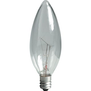 GE Lighting 76229 30 Watt Crystal Clear Incandescent Light Bulb 2-count