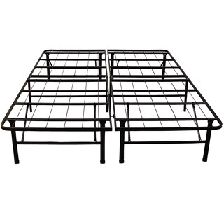 PostureLoft Hercules Platform 14-inch Heavy Duty California King-size Metal Bed Frame/ Mattress Foundation,