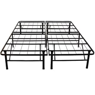 postureloft hercules platform 14 inch heavy duty california king size metal bed frame