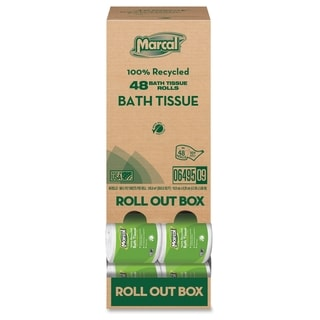 Marcal Two-ply Bath Tissue Rolls - (80 PerCarton)