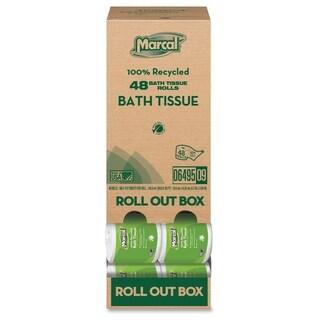 Marcal Two-ply Bath Tissue Rolls - (80 PerCarton)