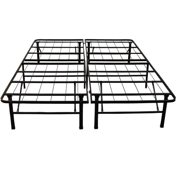 Postureloft Hercules Platform 14 Inch Heavy Duty Full Size Metal Bed Frame Mattress