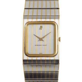 Audemars Piguet Women's Stainless Steel and 18k Yellow Gold Mechanical Watch