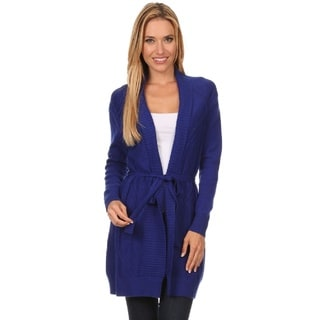 High Secret Women's Knit Open Front Cardigan