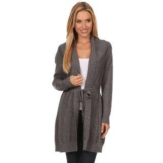 High Secret Women's Knit Open Front Cardigan