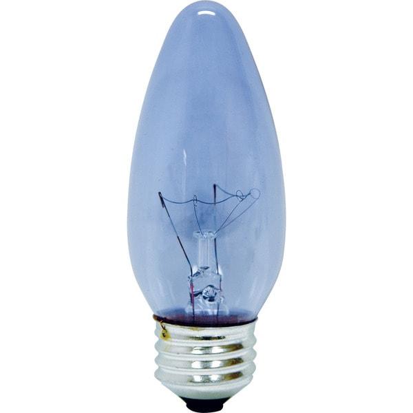 Shop Ge Lighting 48699 40 Watt Type B Blunt Tip Fan Chandelier
