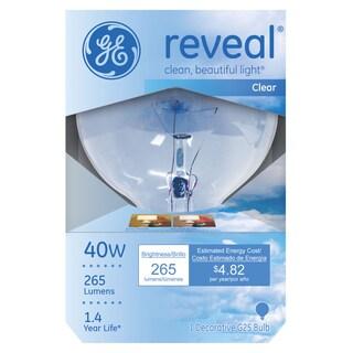 GE Lighting 48694 Reveal Globe Light Bulb