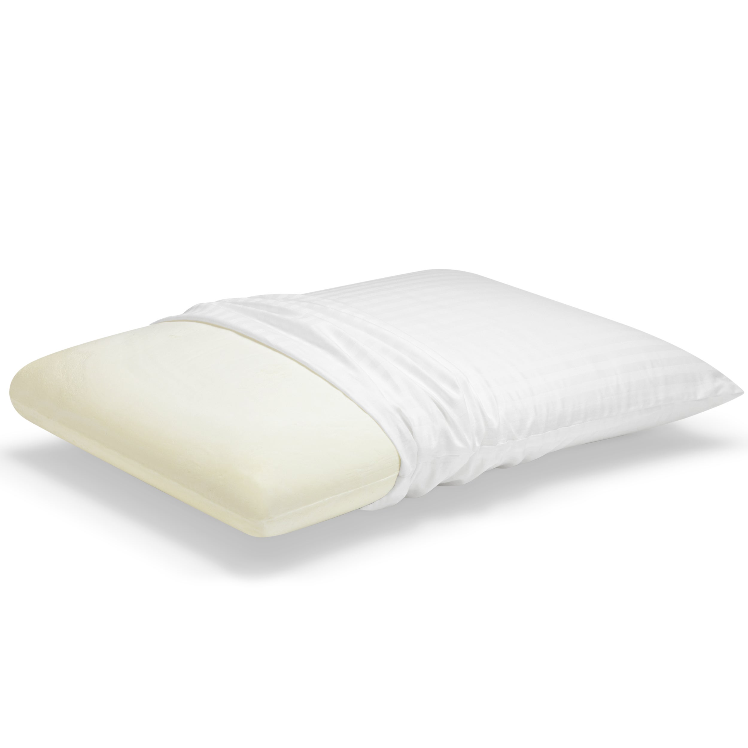 Shop Touch Of Comfort Classic Memory Foam Pillow Overstock