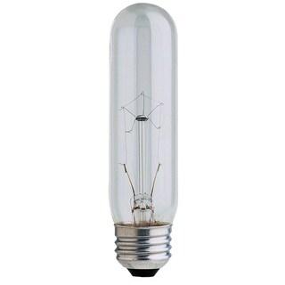 Feit Electric BP25T10 25 Watt Clear T10 Long Life Tubular Light Bulbs
