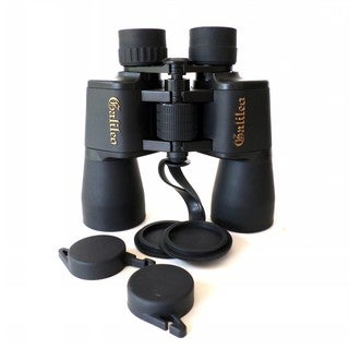 Astronomical Binocular and Case (16 millimeters x 50 millimeters)