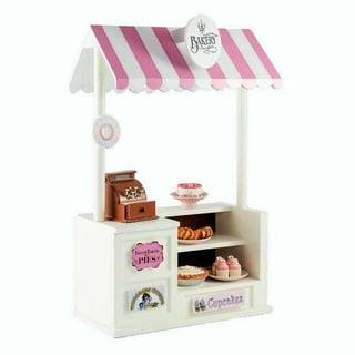 "The Queen's Treasures Interchangeable 18"" Doll Bake Shoppe with Counter, Register & Bake Shoppe Sign, Fits 18"" Girl Doll"