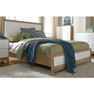 Hashtag Fun White Upholstered Bed Frame