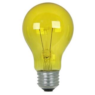 Feit Electric 25A/TY 25 Watt Yellow Party Light Bulb