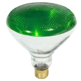Feit Electric 100PAR/G/1 PAR38 100 Watt Reflector Green Flood Light Bulbs 100 Watt
