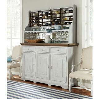 Dogwood Credenza with Complete Wine Rack