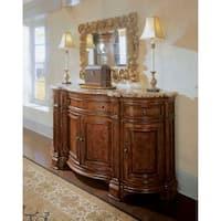 Shop Furniture Of America Oskarre Brown Cherry Formal