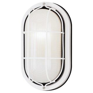 Westinghouse 6783500 White Exterior Wall Fixture
