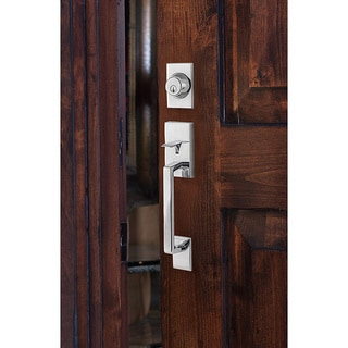 Sure-Loc Modern Front Entrance Handle Set