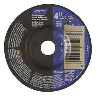 "Norton 42011 4"" X 1/4"" Grinding Wheel|https://ak1.ostkcdn.com/images/products/11642917/P18575442.jpg?impolicy=medium"